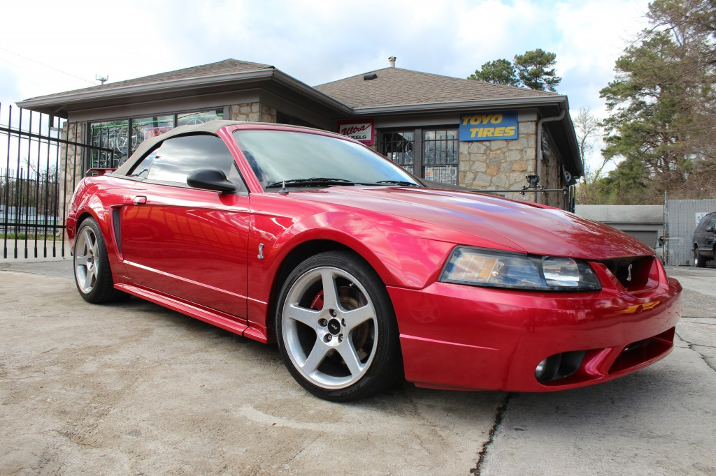 red 2001 ford mustang cobra c2g motorsports